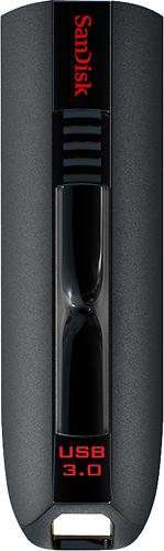 SanDisk - Extreme 64GB USB 3.0 Flash Drive - Black