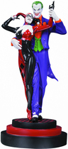 Dc Collectibles - Batman: The Joker And Harley Quinn Second Edition Statue - Multi 5568026