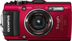 Olympus - Tg-4 16.0-megapixel Waterproof Digital Camera - Red