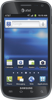Samsung - Exhilarate 4G Cell Phone - Black (AT&T)