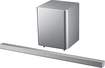 "Samsung - 500 Series 2.1-Channel Soundbar with 6-1/2"" Wireless Subwoofer - Silver"