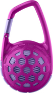 Hmdx - Hangtime Wireless Bluetooth Speaker - Pink/purple