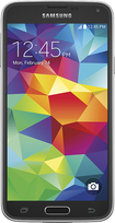 MetroPCS - Samsung Galaxy S 5 4G No-Contract Cell Phone - Black