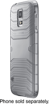 Samsung - Gel Cover for Samsung Galaxy S 5 Cell Phones - Clear