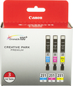 Canon - 251 XL Ink Tanks (3-Pack) - Cyan/Magenta/Yellow