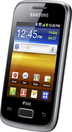 Samsung - Galaxy Y Cell Phone (Unlocked) - Black