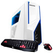 iBUYPOWER - Desktop - Intel Core i5 - 16GB Memory - 1TB Hard Drive - White/Blue