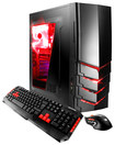 iBUYPOWER - Desktop - 8GB Memory - 1TB Hard Drive - Black/Red