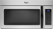 Whirlpool - 1.7 Cu. Ft. Over-the-Range Microwave - Silver