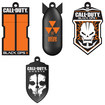 EP Memory - Call of Duty 8GB USB 2.0 Flash Drives (4-Pack) - Black/Orange