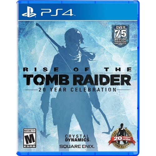 Rise of the Tomb Raider: 20 Year Celebration Digibook Edition – PlayStation 4