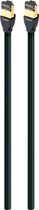 AudioQuest - RJE Forest 4.9' In-Wall Ethernet Cable - Black/Green