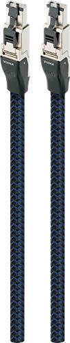 AudioQuest - RJE Vodka 4.9' Ethernet Cable - Black/Blue