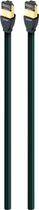 AudioQuest - RJE Forest 9.8' In-Wall Ethernet Cable - Black/Green