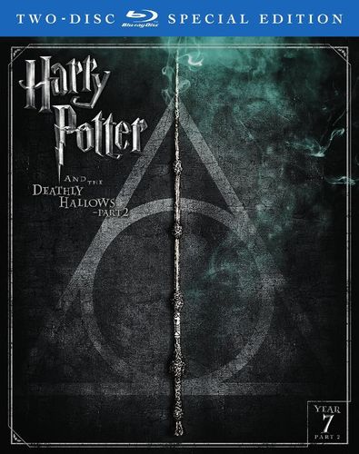 harry potter and the deathly hallows part 2 blu ray 2 discs