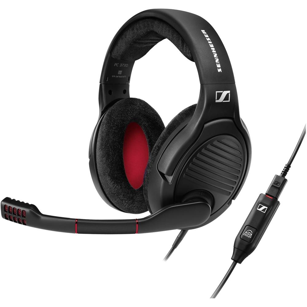 Sennheiser - Pc Over-the-ear Headphones - Black