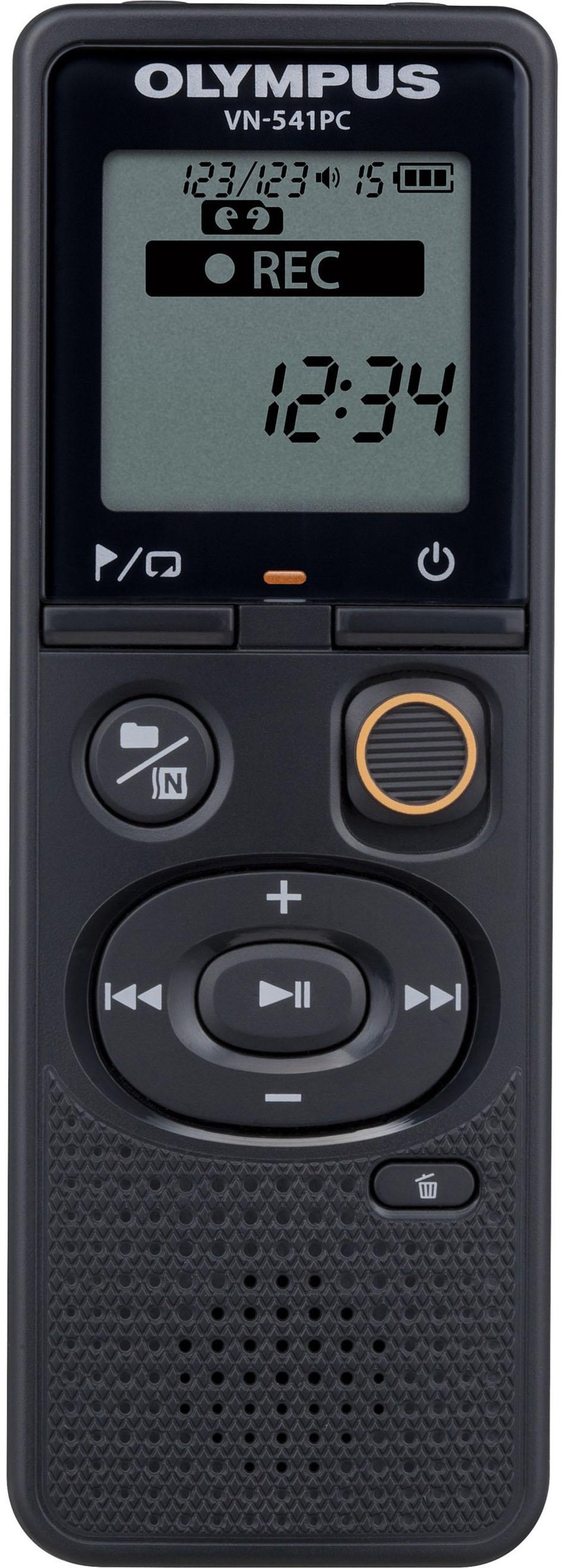 Olympus - Vn-series Digital Voice Recorder - Black