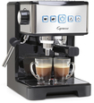 Capresso - Espresso Maker/coffeemaker - Polished Stainless Steel/black