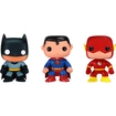 Funko - Dc Universe Pop! Heroes Vinyl Collectors Set: Batman, Superman, Flash - Multi 5580051