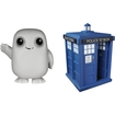 Funko - Doctor Who Pop! Tv Vinyl Collectors Set: Tardis, Adipose - Multi 5580057