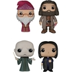 Funko - Harry Potter Pop! Movie Vinyl Collectors Set: Albus Dumbledore, Rubeus Hagrid, Lord Voldemort, Severus Snape - Multi 5580058