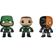"Funko - Arrow Pop! Tv Vinyl Collectors Set: The ""arrow"", Oliver Queen ""the Green Arrow"", Deathstroke - Multi 5580059"