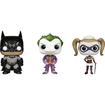 Funko - Arkham Asylum Pop! Heroes Vinyl Collectors Set: Batman, Joker, Nurse, Nurse Harley Quinn - Multi 5580063