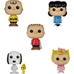 Funko - Peanuts Pop! Tv Vinyl Collectors Set: Charlie Brown, Lucy Van Pelt, Sally Brown, Linus Van Pelt, Snoopy, Woodstock - Multi 5580074