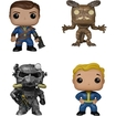 Funko - Fallout Pop! Games Vinyl Collectors Set: Lone Wanderer Male, Deathclaw, Power Armor And Vault Boy - Multi 5580250