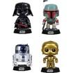 Funko - Star Wars Pop! Vinyl Collectors Set: Darth Vader, Boba Fett, R2-d2, C-3po - Multi 5580259