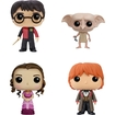 Funko - Harry Potter Pop! Movie Vinyl Collectors Set: Harry Triwizard, Dobby, Hermione Yule Ball And Ron Yule Ball - Multi 5580262