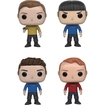 Funko - Star Trek Beyond Pop! Collectors Set: Kirk, Spock, Bones And Scotty - Multi 5580267