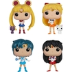 Funko - Sailor Moon Collectors Set Pop! Vinyl Figures - Muti-colored 5580270
