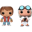 Funko - Back To The Future Pop! Movie Vinyl Collectors Set: Doc Emmet Brown & Marty Mcfly - Multi 5580271