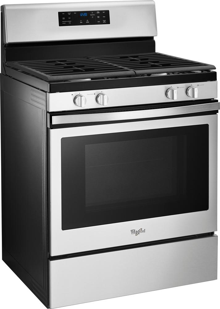 whirlpool 50 cu ft gas convection range stainless steel at pacific sales