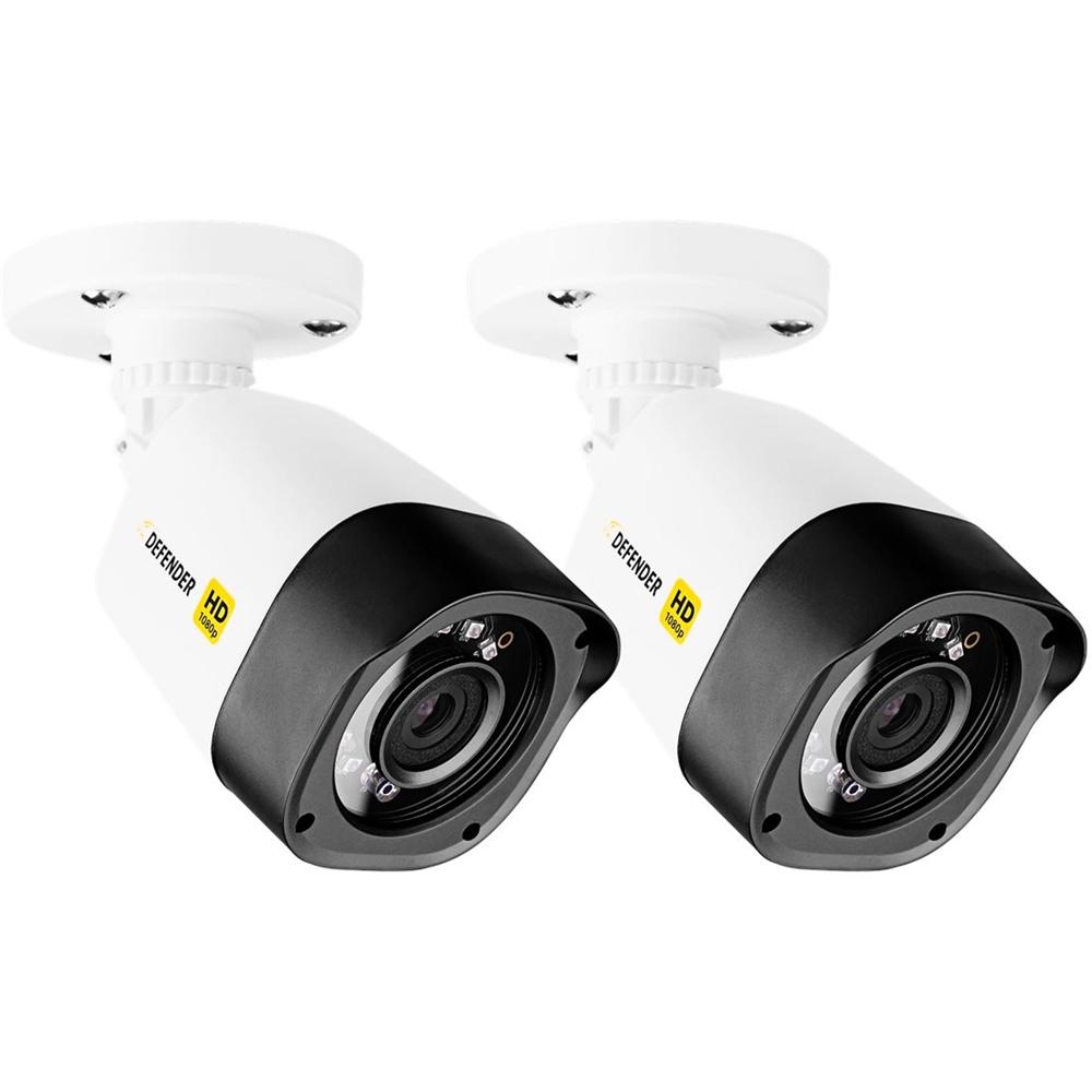 Defender - Outdoor 1080p Cctv Cameras  - White