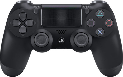 Sony - DualShock 4 Wireless Controller for PlayStation 4 - Jet black