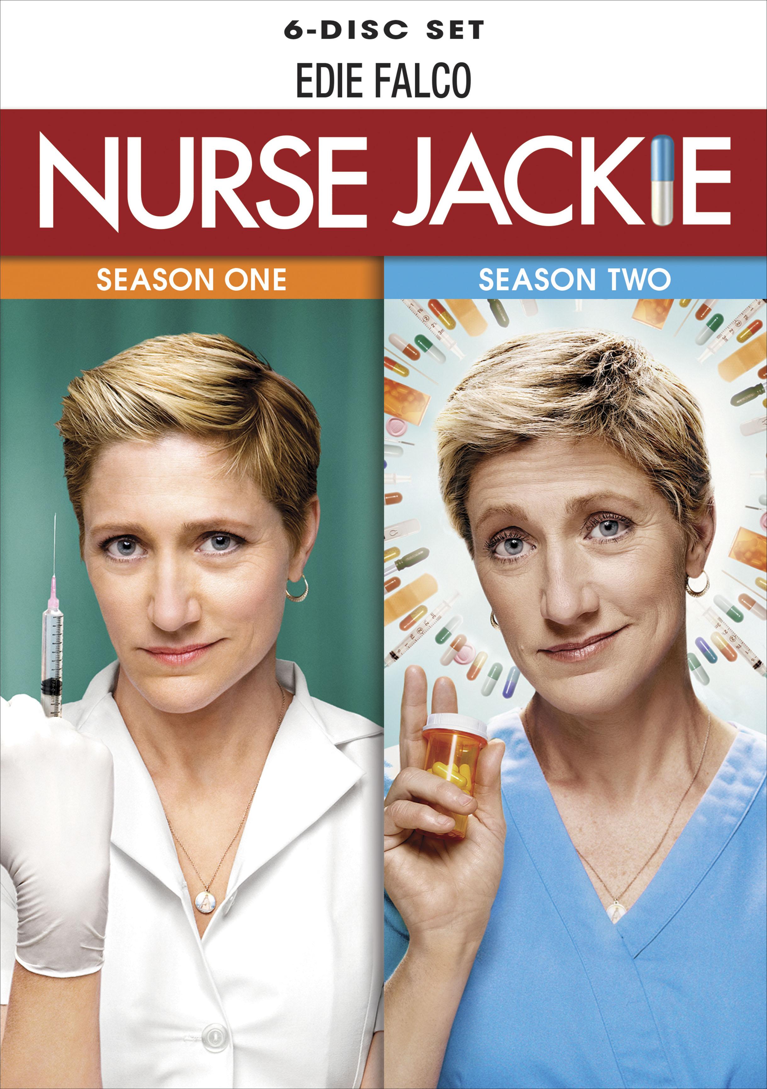 Nurse Jackie: Seasons 1 And 2 [6 Discs] (dvd) 5580964