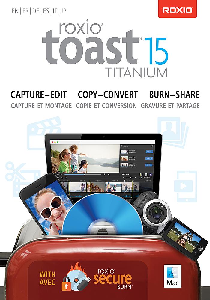 Toast 15 Titanium - Mac...