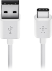 Belkin - Mixit 6' Usb Type A-to-usb Type C Device Cable - Wh