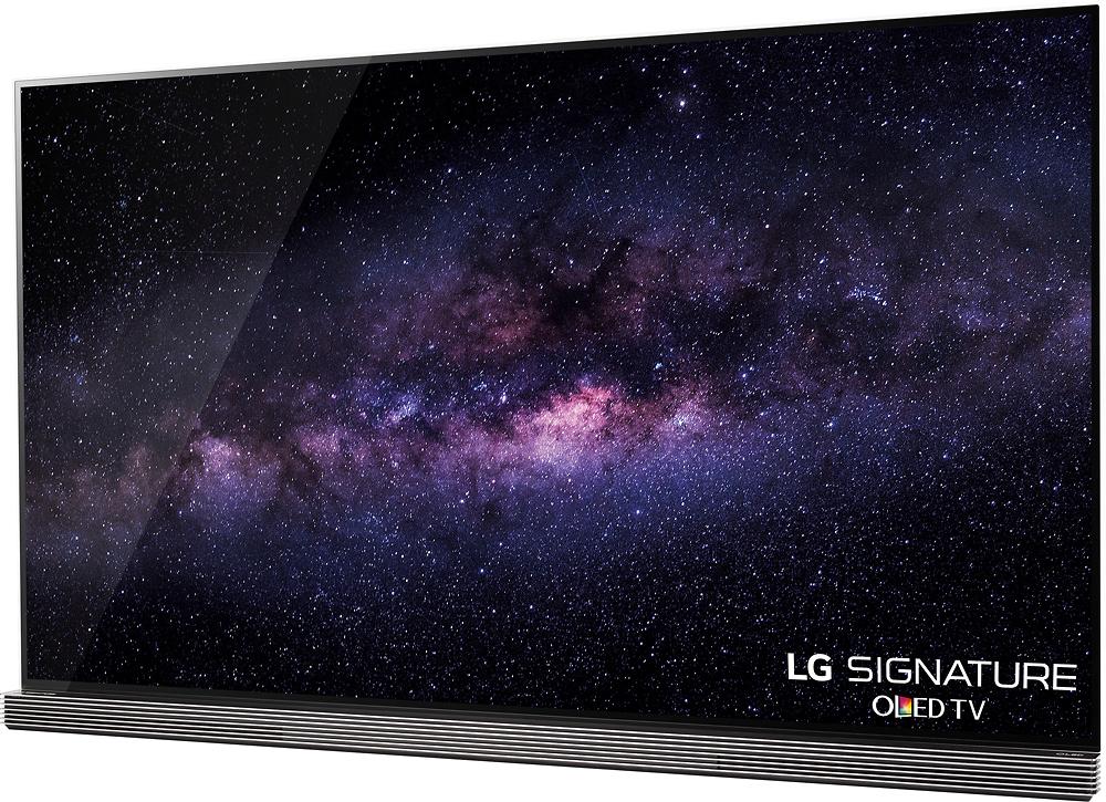 LG OLED77G6P leftViewImage
