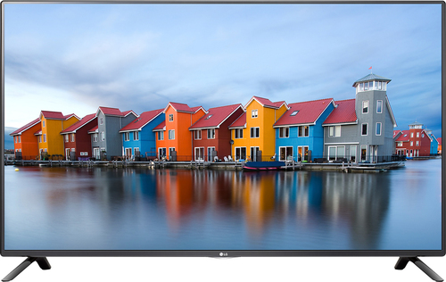 """LG - 55"""" Class (54.6"""" Diag.) - LED - 1080p - Smart - HDTV - Black"""
