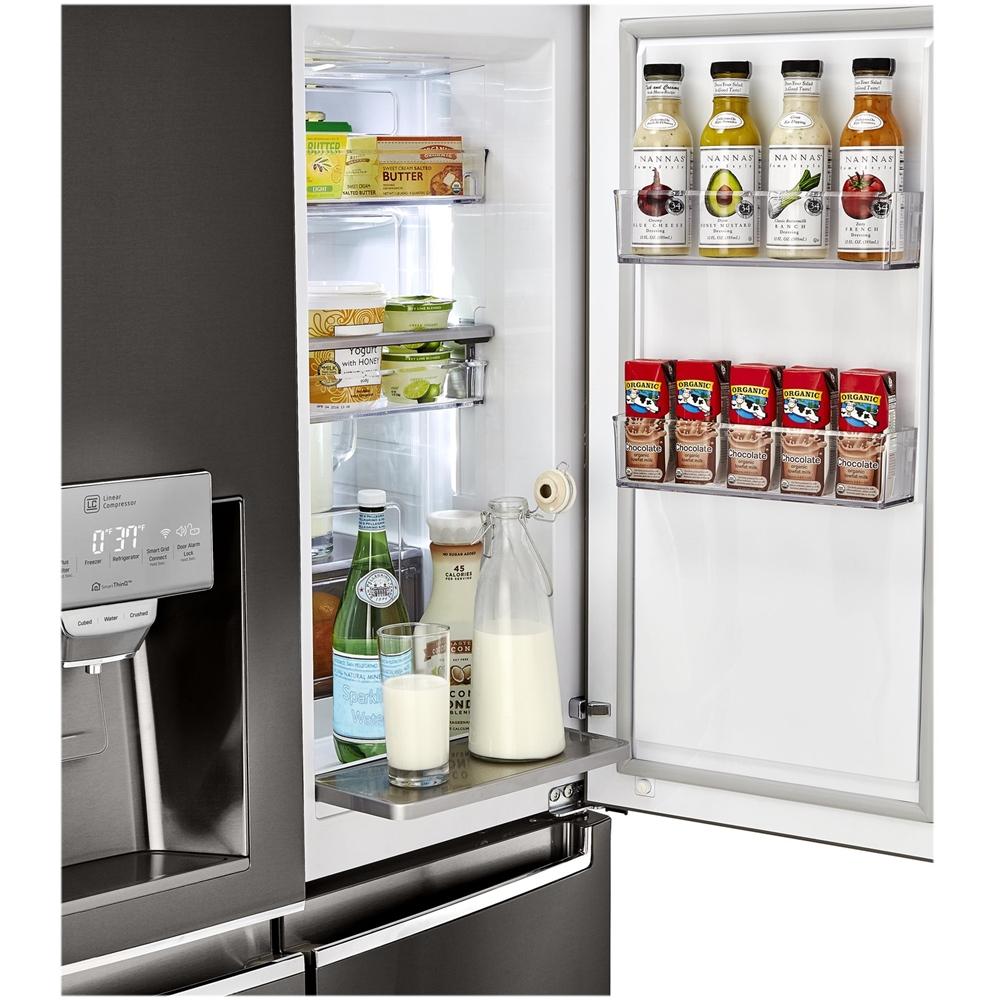 LG - 29.9 Cu. Ft. 4-Door French Door, Door-in-Door Refrigerator ...
