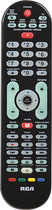 RCA - 6-Device Universal Remote - Black