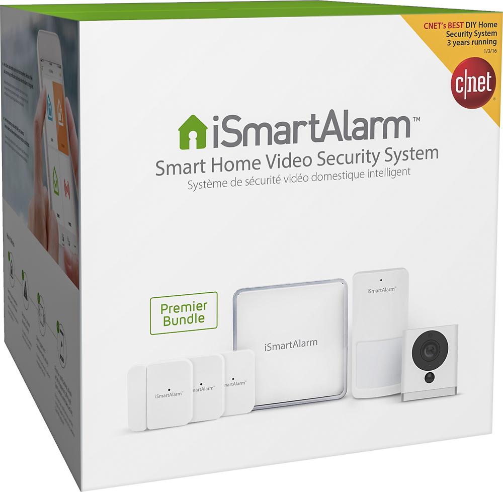 Ismartalarm - Smart Home Video Security System Premier Bundl