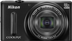 Nikon - Refurbished Coolpix S9600 16.0-Megapixel Digital Camera - Black