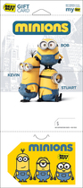 Best Buy Gc - $1000 Minions Gift Card