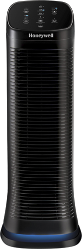Honeywell - AirGenius 4 Air Cleaner/Odor Reducer - Black