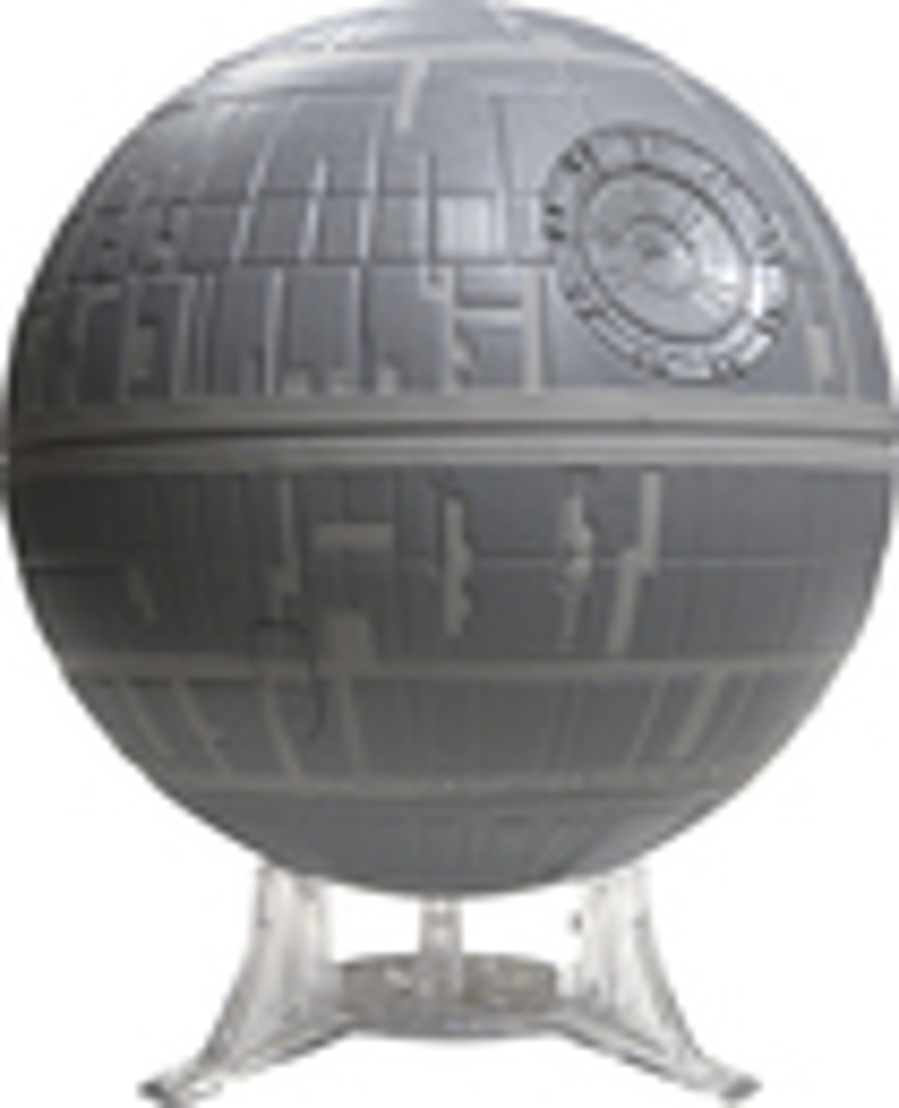 Uncle Milton - Star Wars Death Star Pro Galaxy Projector - Silver 5601400