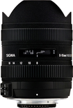 Sigma - 8-16mm f/4.5-5.6 DC HSM Ultra-Wide Zoom Lens for Select Nikon DX DSLR Cameras - Black